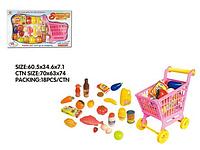 Тележка с продуктами для детских игор