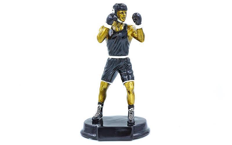 Статуэтка (фигурка) наградная спортивная Бокс Боксер C-1761-A (р-р 27х15х11 см)