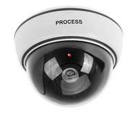 Купольная камера - обманка потолочная Dummy ir Camera 1500B от батареек, Камера видеонаблюденя, Видеонаблюдение, Камера