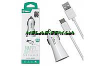 Автомобильное зарядное устройство INKAX CC-29 microUSB кабель, 2,4А, USB, Зарядки к телефонам