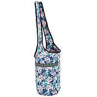 Сумка для фітнесу і йоги через плече Yoga bag KINDFOLK FI-8364-2 (розмір 33смх84см, поліестер, бавовна,, фото 1