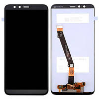 Дисплейный модуль (LCD дисплей + touch screen) для Huawei Honor 9 Lite Black