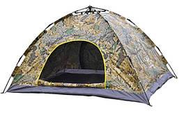 Палатка автомат с автоматическим каркасом 6-ти местная 2,1х2.5 метра UKC камуфляж