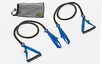 Тренировочная система для тренировки гребка MadWave ROWER TRAINER DRY M077109 (латекс, нейлон, PP, длина-1,2м, сопротивление от 1,3 до 15,4 кг, цвета