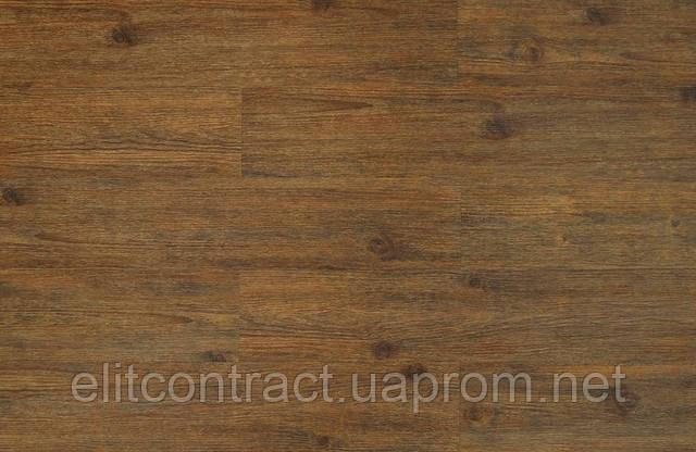 Кварцвиниловая плитка LG Decotile DSW 5713 Коричневая сосна