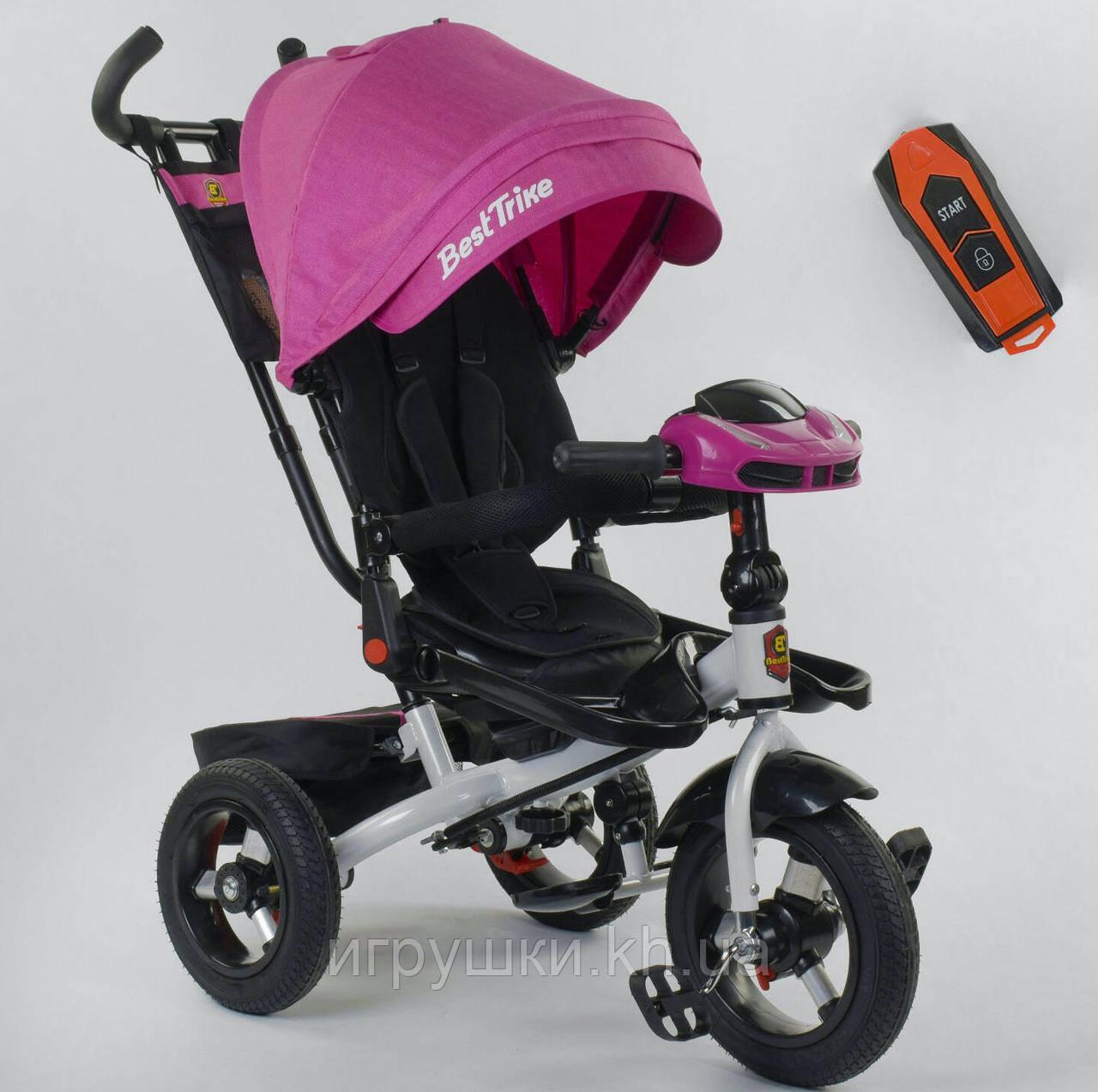 Триколісний дитячий велосипед Best Trike 6088F-06-755 з надувними колесами