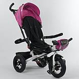 Триколісний дитячий велосипед Best Trike 6088F-06-755 з надувними колесами, фото 3