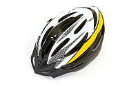 Велошлем кросс-кантри с механизмом регулировки Zelart HB13 (EPS, пластик, PVC, р-р L-M (55-61), цвета в