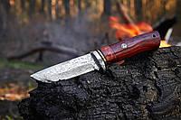 Нож охотничий KL9032 с клинком из дамасской стали, небольшой, неутяжеленный, прочный