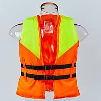 Жилет спасательный PL-0542 (EVA, ремни-PL, р-р S-L, цвета в ассортименте)