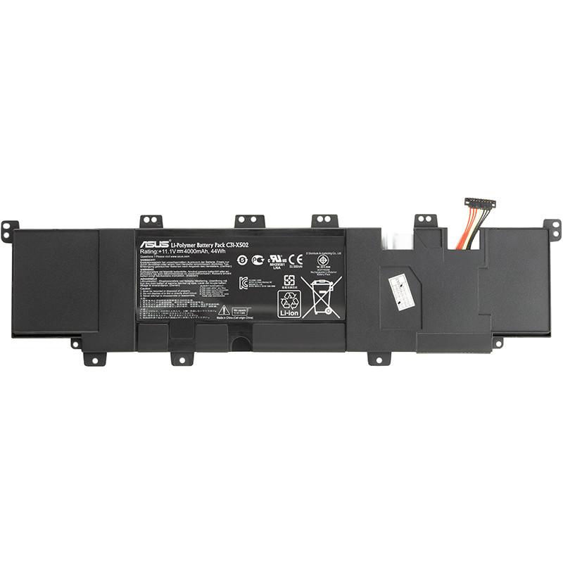 Аккумулятор для ноутбуков ASUS VivoBook S502 (C31-X502) 11.1V 4000mAh