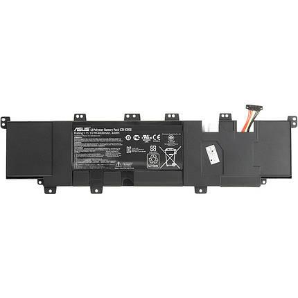Аккумулятор для ноутбуков ASUS VivoBook S502 (C31-X502) 11.1V 4000mAh, фото 2