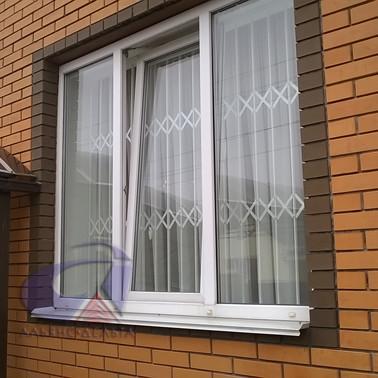 Решетки на окна прямые
