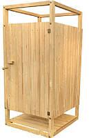 Душ летний деревянный плюс бак на 100 литров