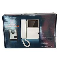 """Домофон - видеодомофон с экраном V43D-M1 экран 4,3"""", открытие замка, разговор, Видеодомофоны"""