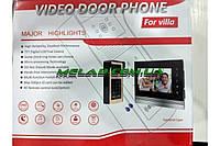 "Домофон вбудовується Video Door Phone V90RM-M1 TFT / microSD, екран 9 "", 1500mA"