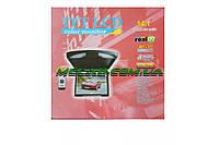 """Рідкокристалічний стельовий монітор TFT LCD екран 14,1 """", MP3 / FM / USB / SD / NTSC, два динаміка, куль ДУ"""