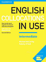 English Collocations in Use Second Edition Intermediate with answer key / Книга с ответами