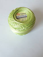 Канаріас Пряжа Canarias YarnArt 100%  салатовий, 1 шт. № 5352