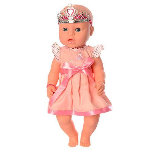 Кукла-пупс ДИВО YL1899W-S-UA интерактивная,42 см, 9 функций, пьет