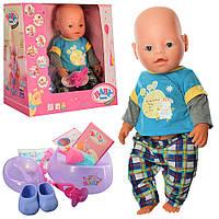 Кукла-пупс BB 8060-500 интерактивная,9 функций, фото 1