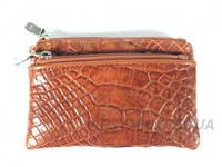 Ключница из кожи крокодила River (OAMC 31 Cognac), фото 1