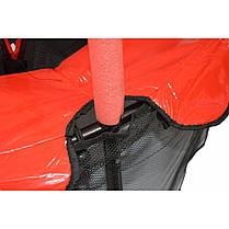 Батут Atleto 140 см з сіткою червоний New, фото 2