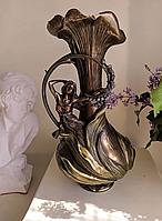 """Ваза декоративная Veronese """"Девушка в гиацинтах"""" (39 см) 10162 V4"""