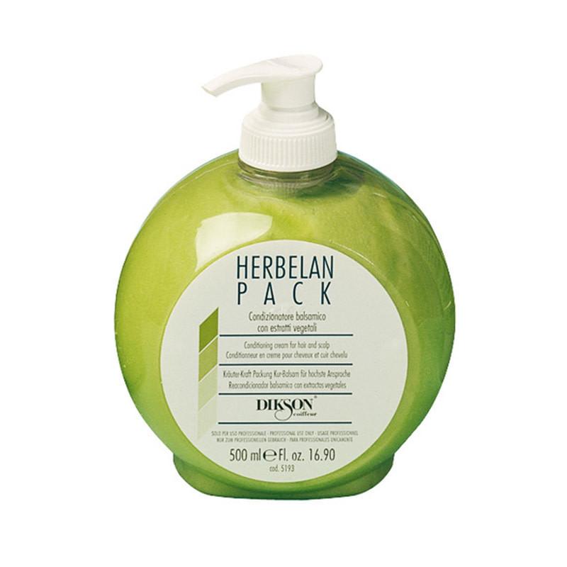Бальзам Dikson Hair Care Herbelan Pack с ментолом для увлажнения и восстановления кожного баланса