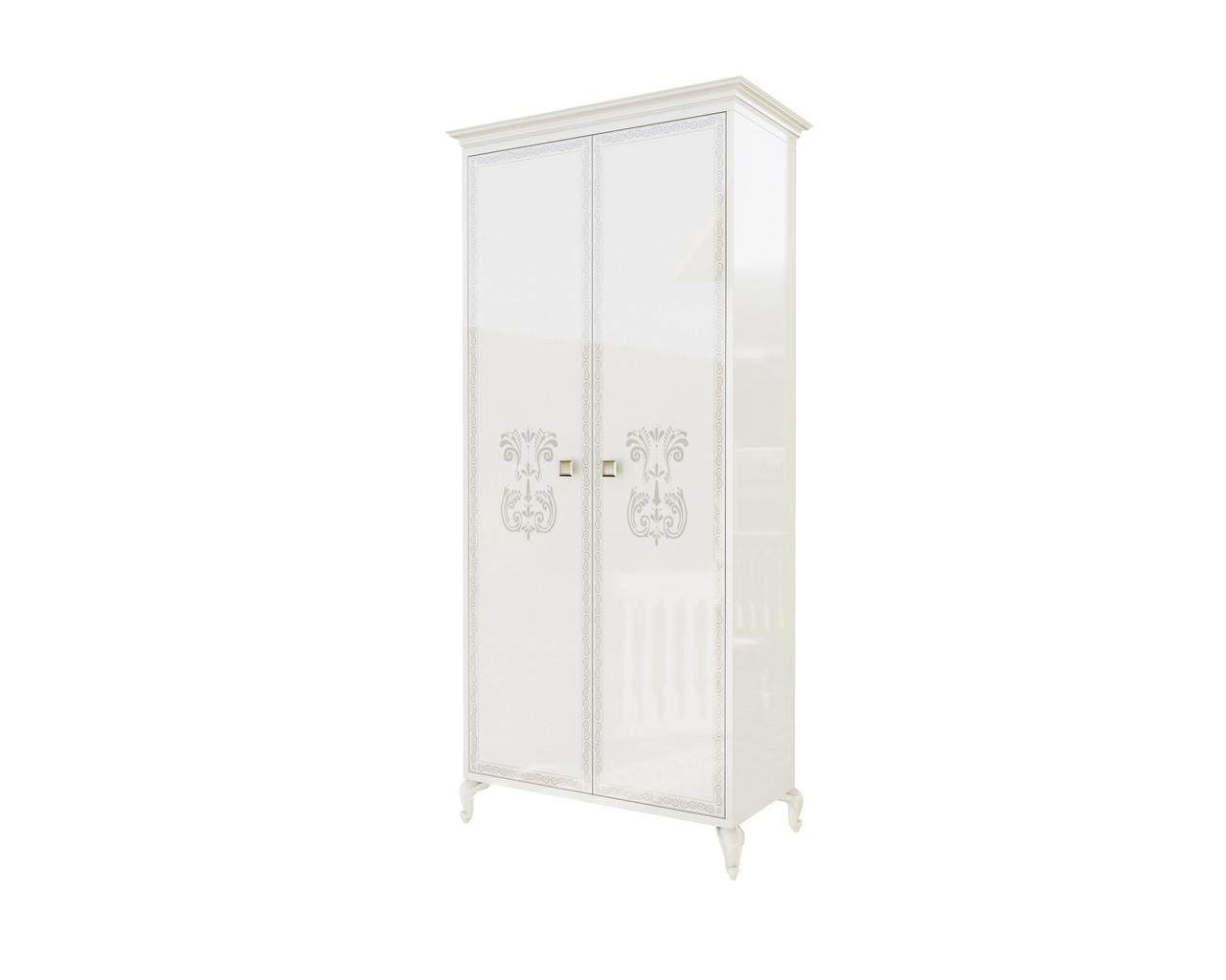 Шкаф 2д Вероника Світ меблів (белый)