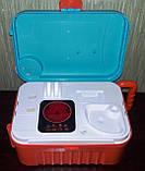 Кухня в чемоданчике 008 956A плита, звук, свет, посуда, продукты, фото 4