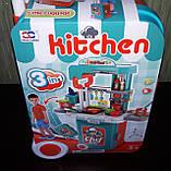 Кухня в чемоданчике 008 956A плита, звук, свет, посуда, продукты, фото 6