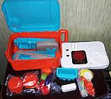 Кухня в чемоданчике 008 956A плита, звук, свет, посуда, продукты, фото 5