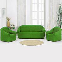 Накидка на диван Зеленая 170Х230