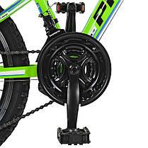 Горный Велосипед 20 Д. G20A315-L-2B Зелено-голобой, фото 3