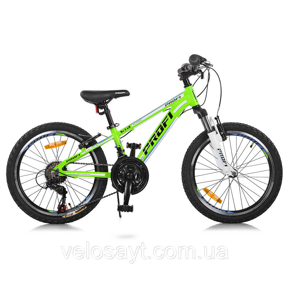 Горный Велосипед 20 Д. G20A315-L-2B Зелено-голобой