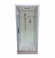 Душевой бокс Veronis BN-1-04, квадратный, 90х90х208 см, стекло прозрачное, фото 1