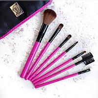 Набор кисточек для макияжа TF TRIUMF с натуральной ворсы TOTAL BEAUTY SET НАБОР КИСТЕЙ для макияжа 7 кистейнаб