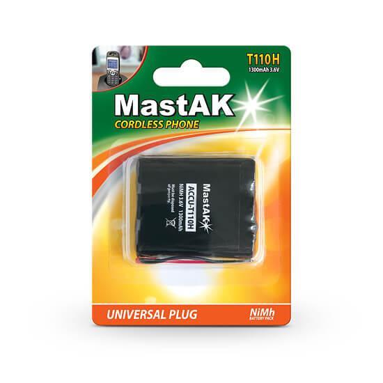 Акумулятор до стаціонарного телефону MastAK T-110 ( 3,6 v 1300mAh )