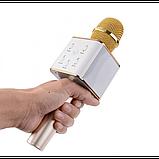 Караоке Микрофон Tuxun Q7 ЗОЛОТО, фото 9