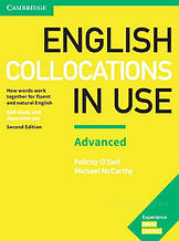 English Collocations in Use Second Edition Advanced with answer key / Книга с ответами
