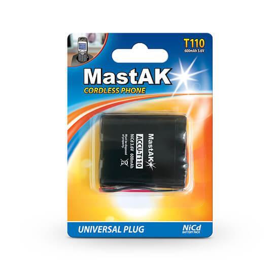 Аккумулятор к стационарному телефону MastAK T-110 ( 3,6v 600mAh )