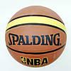 М'яч баскетбольний №7 Spalding NBA 607/7 гумовий, фото 4
