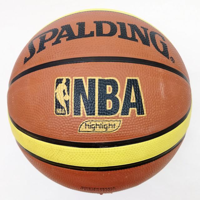 М'яч баскетбольний №7Spalding 607/7 гумовий