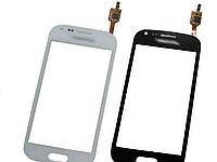 Samsung Galaxy Core i8260 Duos i8262 Сенсорный экран  с скотчем, чёрный, прямой шлейф