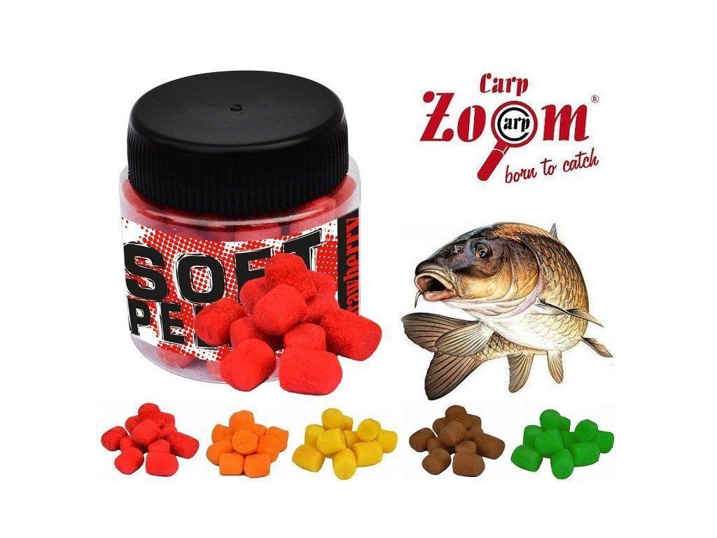 Плавающие насадочные пеллетсы Carp Zoom Soft Pellet Strawberry (клубника) 12мм 25 г