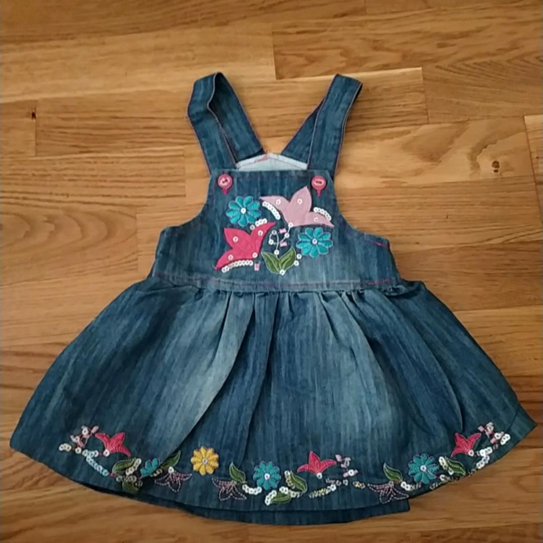 Сарафан джинсовий для дівчинки 1-4 роки Туреччина
