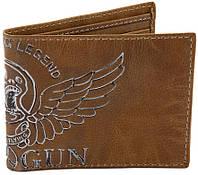 Оригинальный кожаный кошелек Top Gun Keep Em' Flying TGW1008 (Brown)