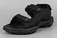 Сандалии босоножки унисекс подростковые кожаные черные Bona 775D-2 Бона Размеры 36 37 38 39 41, фото 1