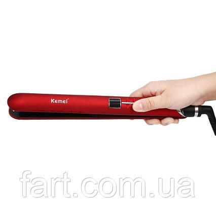 Утюжок-выпрямитель для волос Kemei JB-KM-2205, фото 2